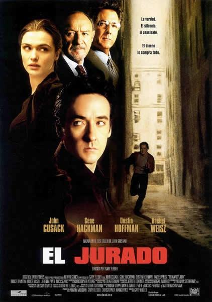 El jurado [Vídeo] = Runaway jury / dirigida por Gary Fleder. - Madrid: Twentieth Century Fox Home Entertainment España, 2007