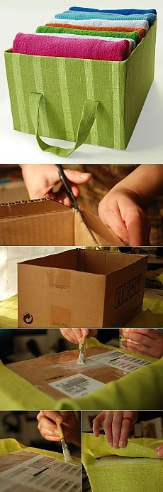 Universal box for storage    DO IT YOURSELF!