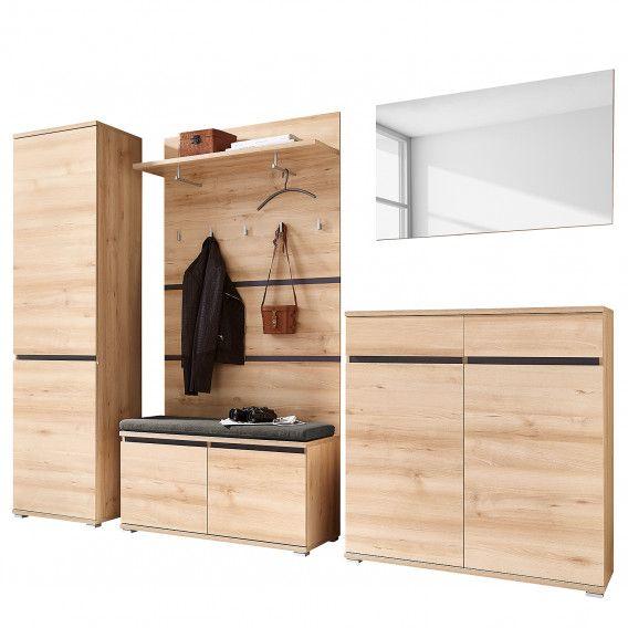 Garderobenset Lissabon I 6 Teilig Garderoben Set Garderobenset Und Garderobenschrank