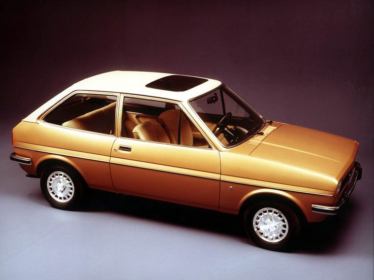 Somehow, the way this 1976 Ford Fiesta hatchback has aged makes it desirable with it's boxy, seventies look.  The first generation of the Ford Fiesta Mark I was produced from 1976–1983 a , had an inline-4 and had up to 84hp. Read the rest of this story on Cartype.