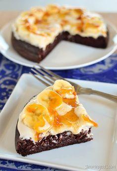 Gâteau Weetabix au chocolat et à la banane Toffee Banana – végétarien, Slimming World …   – Slimming world