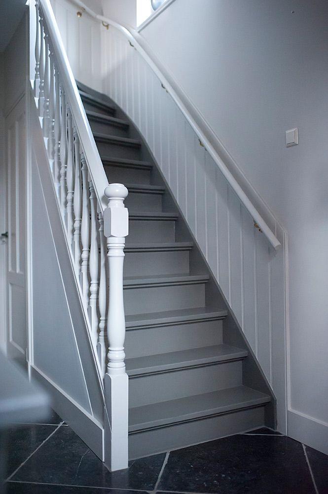 Meer dan 1000 idee n over trappenhuis schilderen op pinterest kelder trap verf trap en trappen - Schilderij trap ...