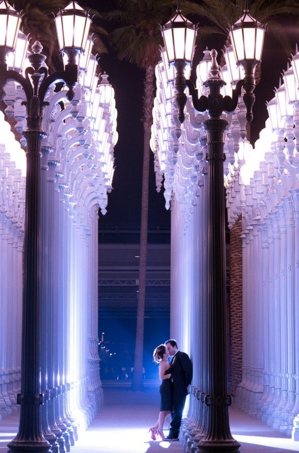 78 best all things urban light lacma sculpture images on pinterest los angeles county museum of arts urban light installation as seen in no strings attached wedding photography by vince and carla mozeypictures Images