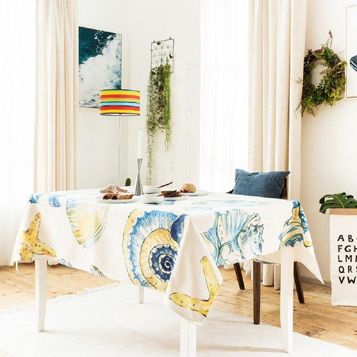 Sea Shells Indoor / Outdoor Tablecloth