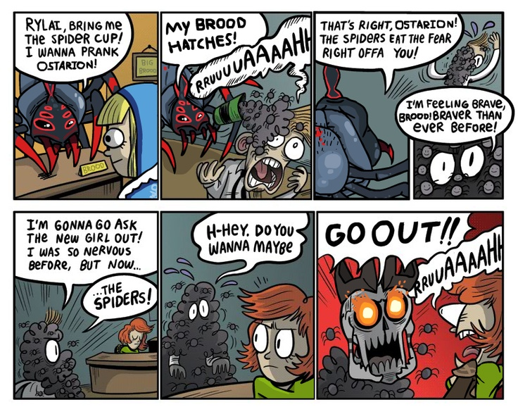 Prank on Skeleton King.