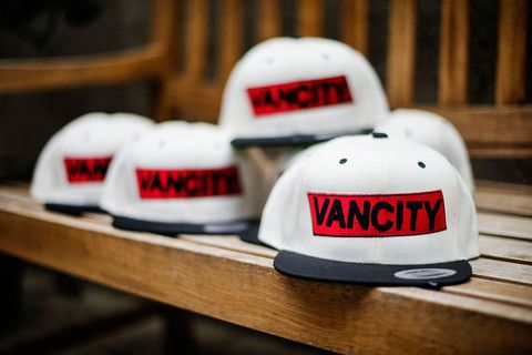Vancity Embroidered Caps - custom designed at Make!