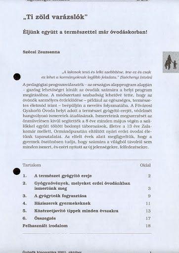 B2-6 - Ti zöld varázslók - Angela Lakatos - Picasa Webalbumok