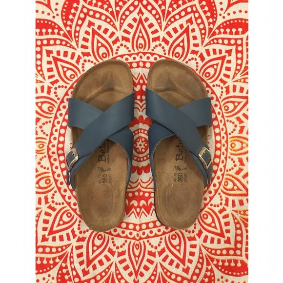 вιякєиѕтσcк - Blue Betula Sandals Prices are firm unless bundled No swaps, models, or reserves -- sorry! Birkenstock Shoes Sandals