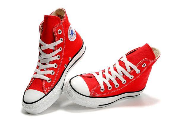 Atpdue.it / Red Converse alte in Chuck Taylor All Star Canvas Sneakers converse chuck taylor converse italia store