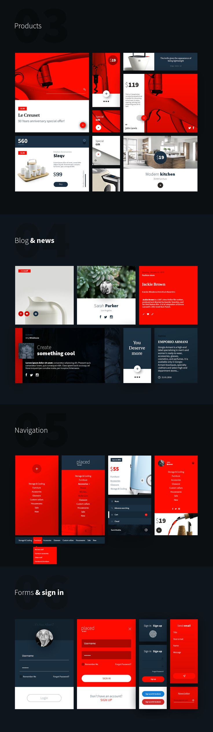 Placed Ui Kit is a large, modern set which contain ~60 components and ~ 600 elements in 8 categories: audio & video, blog & news, forms, headers, navigation, products, stats, widgets. Placed Ui Kit - Save your time and get some inspiration while creating …