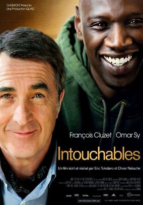 The Intouchables - Amigos  Francois Cluzet Omar Sy 2011 / France Olivier Nakache & Eric Toledano - funny, moving, true story