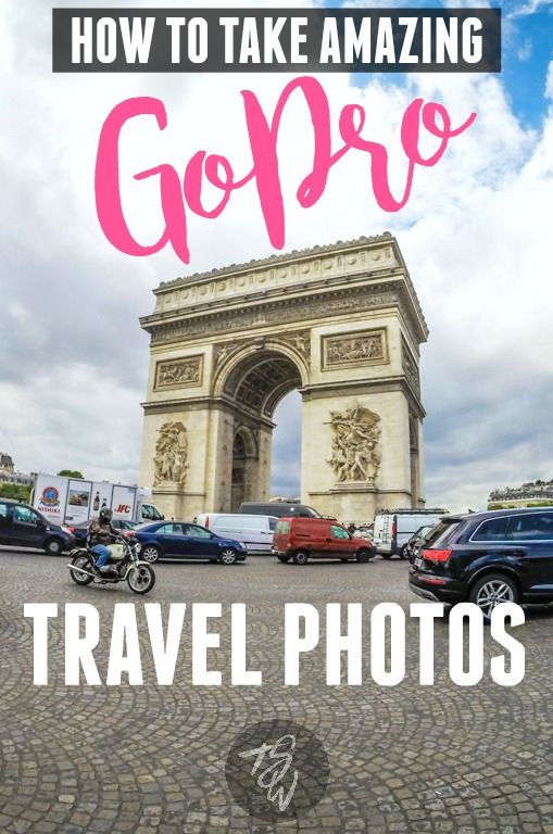 These are the best tips for taking AMAZING travel photos with a GoPro!  These little cameras can do such incredible things!  I take mine with me on EVERY trip!!