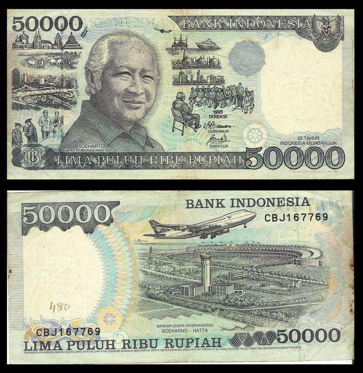 Indonesia 50000 Rupiah – #Indonesia #rupiah