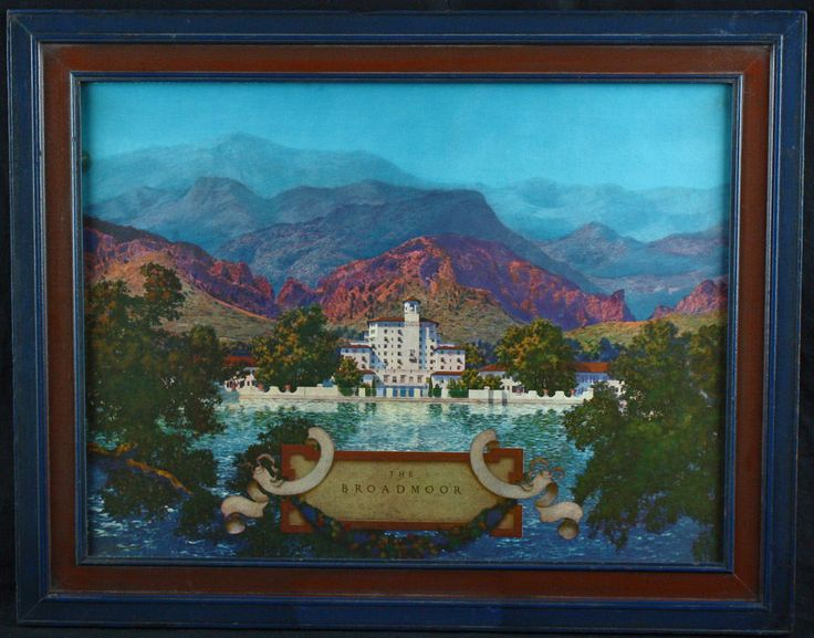 Details about RARE ANTIQUE MAXFIELD PARRISH PRINT THE ...