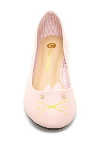 Pinky Kitty Flat shoes #cute #shoes #flatshoes #pink #girly #kitty #kitten #hotitem #soldout Grab it before it's sold out! $35