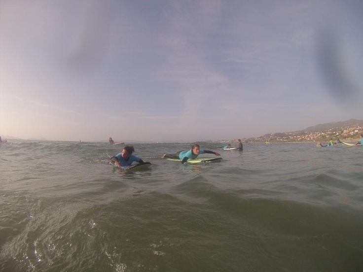 Remar es parte del surf