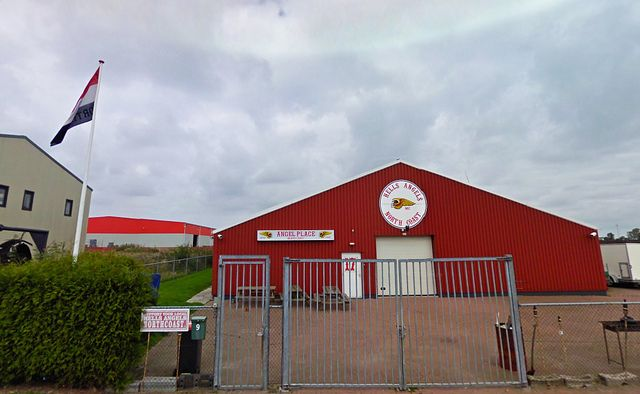 Hells Angels - North Coast Holland Clubhouse. The ...