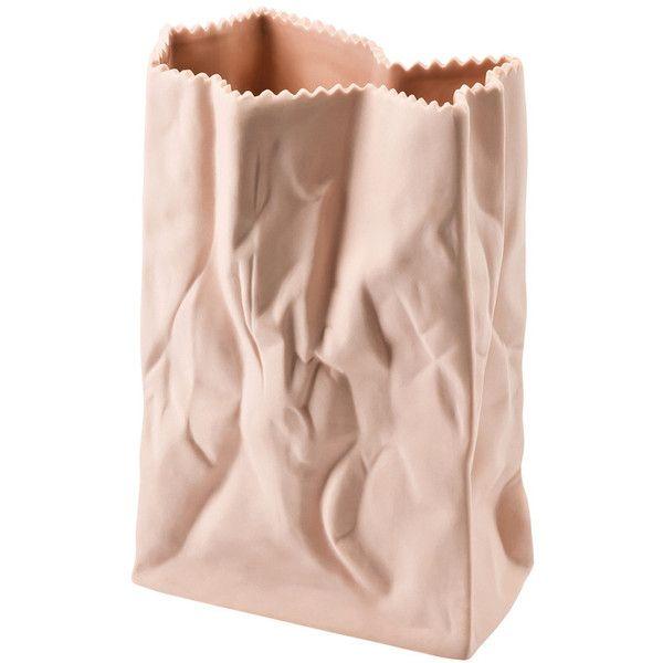 Rosenthal - Paper bag vase - coloured found on Polyvore