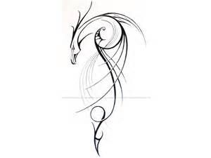 Image detail for -Free designs - Linear dragon tattoo wallpaper