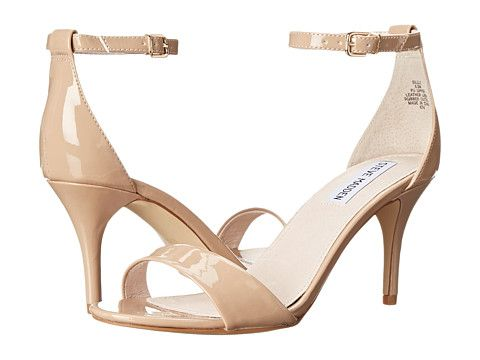 "I think I like the color of these better than the ""Darrlin"" style that is nude, but these are more expensive. $79.95 Blush 3.25 inch heels Steve Madden Sillly"