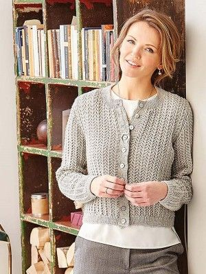 ff4e40808 Knitting pattern for a long sleeved cardigan with all-over lace stitch and  round neck in Patons Extrafine Merino 4 Ply. See our great prices and fast  ...