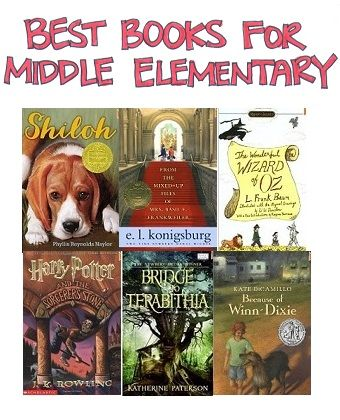 A Selection of the Best Books for Mid Elementary Selected by Cross-Referencing Numerous Best-Books-for-Kids Books - ResearchParent.com