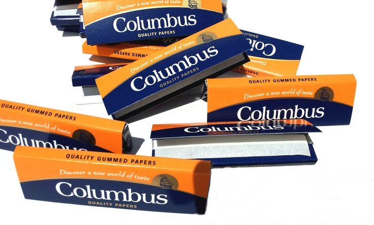 Foite Columbus pentru rulat tutun. Un pachetel contine 50 buc. foite, dimensiune standard.Comenzi: tuburipentrutigari.ro