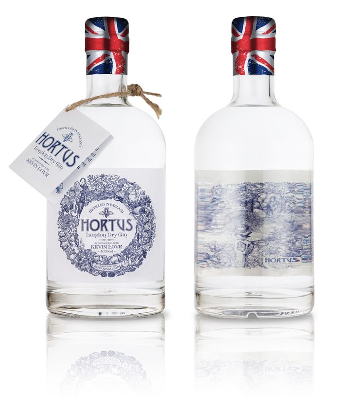 The Dieline Awards 2016 Outstanding Achievements: HORTUS BOTANICAL LONDON DRY GIN — The Dieline - Branding & Packaging