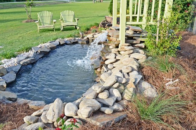 17 best images about fountains and water features on for Building a fountain pond