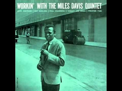 Miles Davis Quintet - It Never Entered My Mind (1956)  Personnel: Miles Davis (trumpet), John Coltrane (tenor sax), Red Garland (piano), Paul Chambers (bass), Philly Joe Jones (drums)  from the album 'WORKIN' WITH THE MILES DAVIS QUINTET' (Prestige Records)