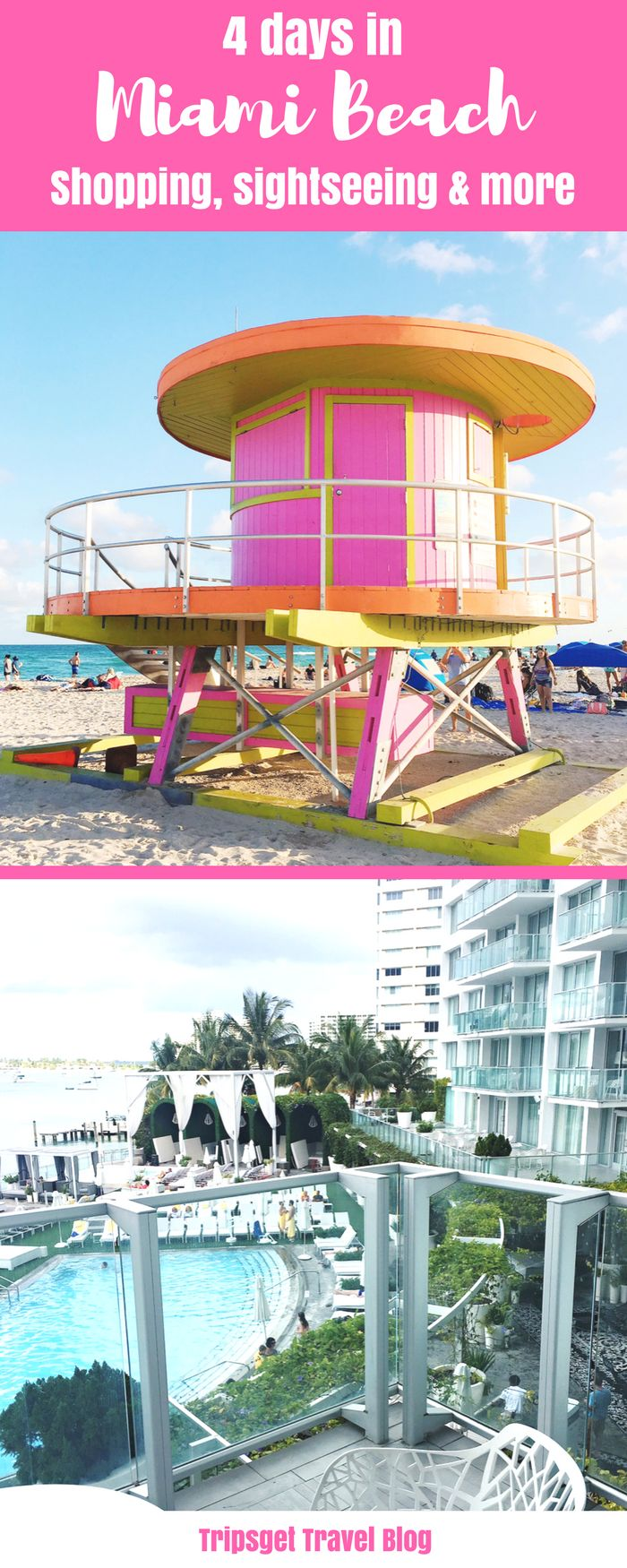 4 days in Miami Beach: from Sightseeing to Shopping. Food in Miami Beach. Sawgrass Mills. Miami Downtown. Things to do in Miami. South Beach! Baywatch :)