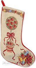 Handmade Needlepoint Stocking