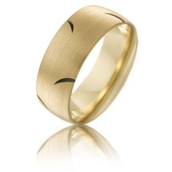 #PeterWBeck #Australianmade CW4046 #YellowGold #WeddingRing