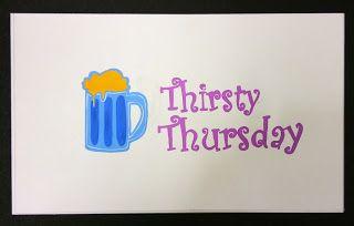 logo design : Thirsty Thursday