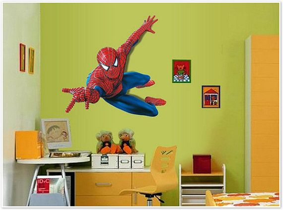 116 best images about anthony 39 s room ideas on pinterest for Spiderman kids room