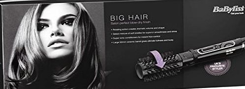 BaByliss Big Hair 50 mm Rotating Hot Air Styling Brush No description (Barcode EAN = 9870684165408). http://www.comparestoreprices.co.uk/december-2016-week-1-b/babyliss-big-hair-50-mm-rotating-hot-air-styling-brush.asp