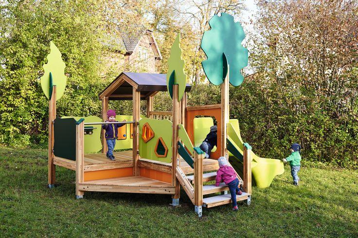 Avec cette maison des aventures, les enfants auront beaucoup de choses à découvrir