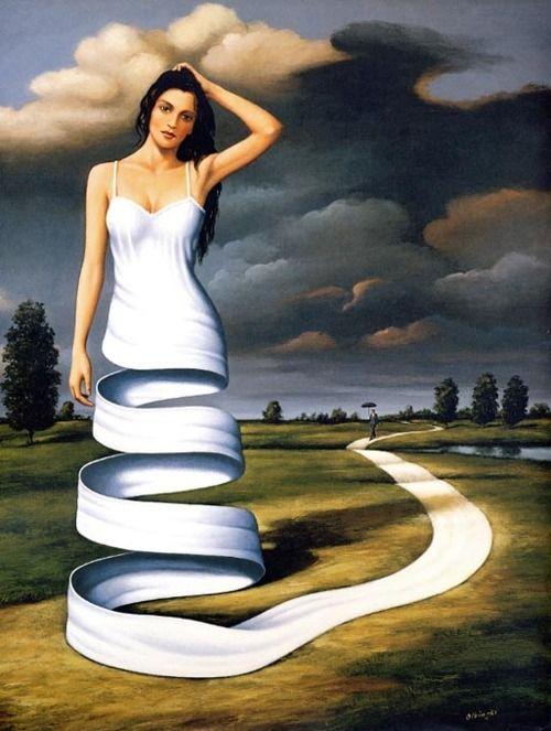 Conheça o surrealismo poético de Rafal Olbinski