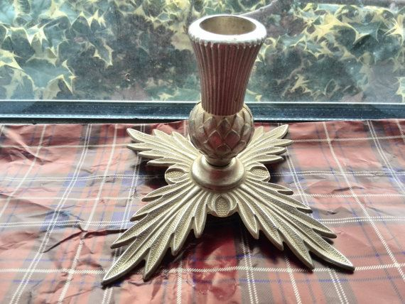 Outlander Inspired themed Vintage teasel candle by Freaklikemee