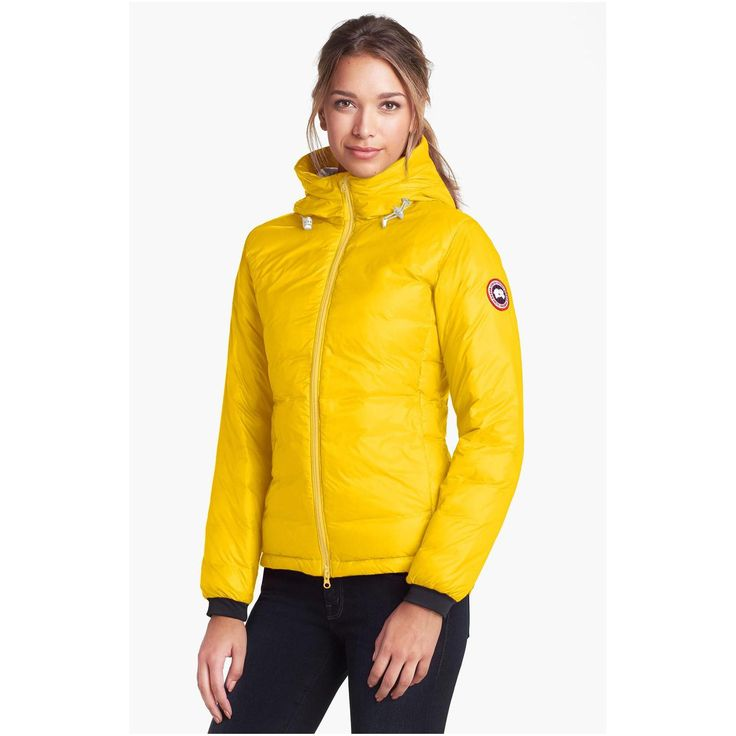 c2749925029 spain canada goose camp hooded quilted down coat yellow e19b0 8eb5e
