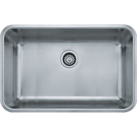 Franke Vector Sink : Franke GDX11028 Grande Undermount Kitchen Sink, Stainless Steel ...