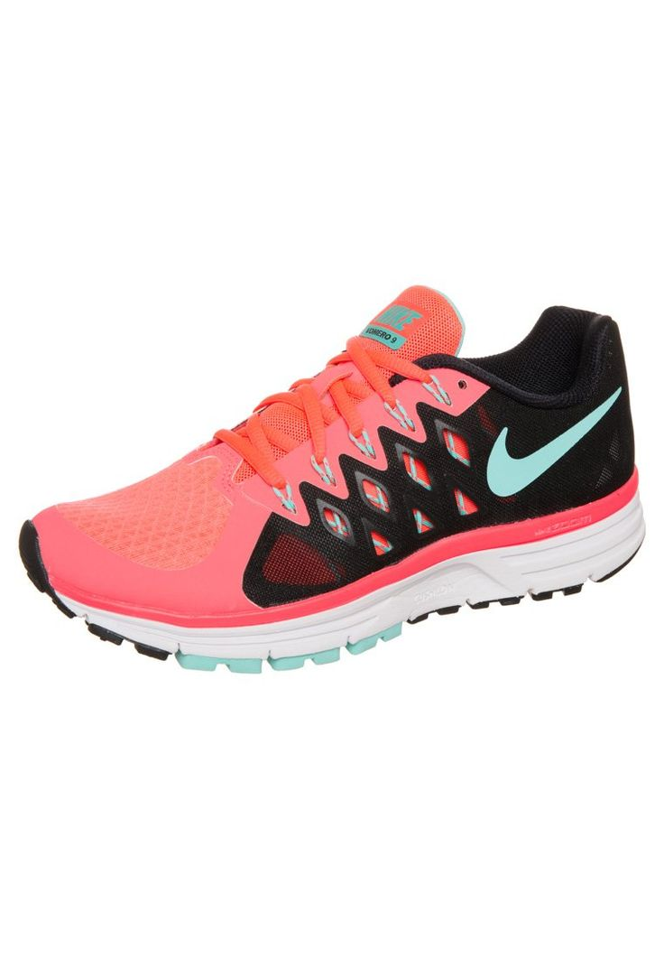 7684a73a842 ... Running Shoes - SP15 Womens Pink Nike Performance - ZOOM VOMERO 9 -  Laufschuh Dämpfung - hyper punch hyper turquois- ...