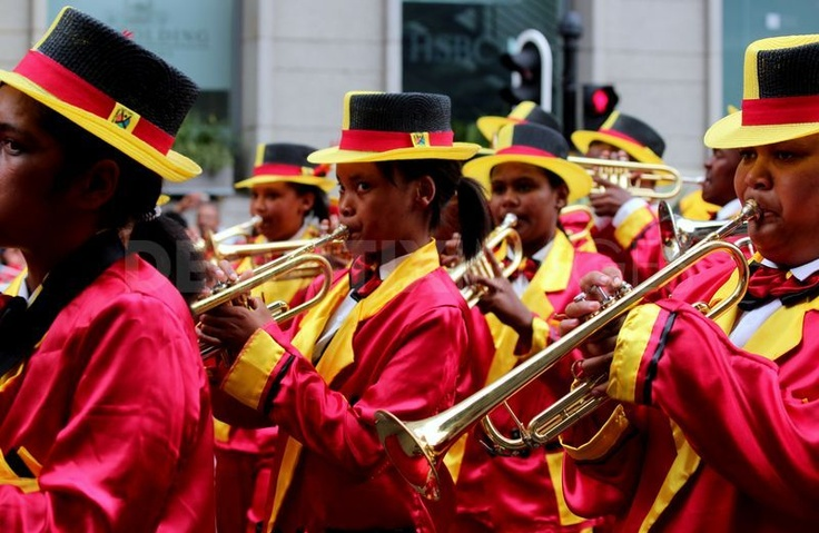 """The Cape Minstrels also known as """"Kaapse Klopse"""" in #CapeTown"""