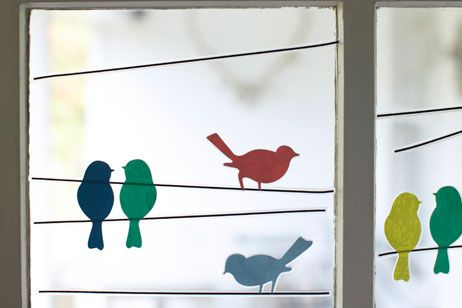 #stylesquared Bird Window Stickers