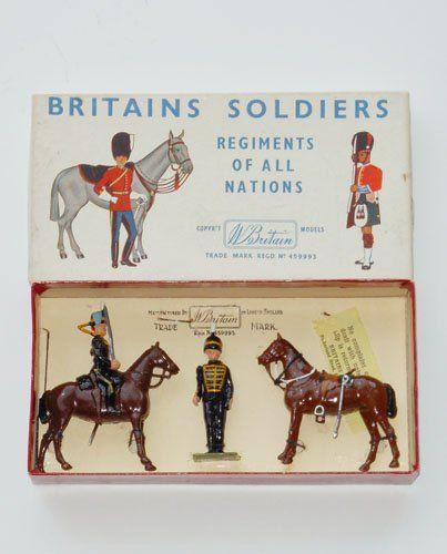 2120 3rd (King's Own) Hussars [Mint in ROAN Half Set box]