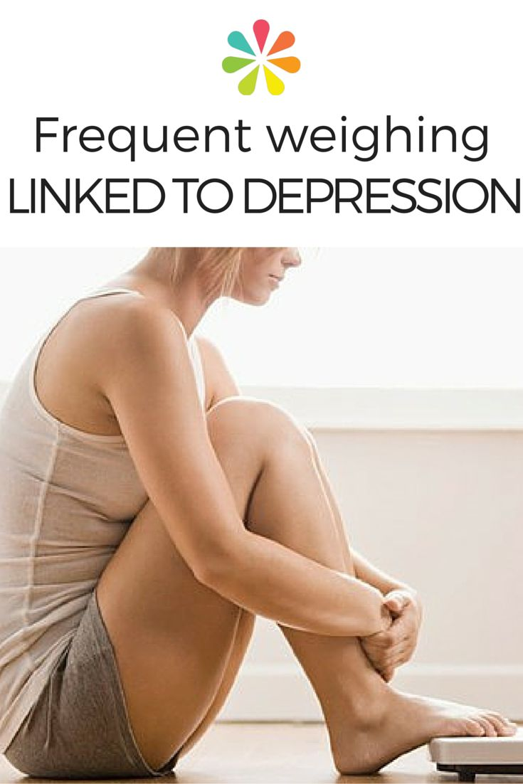 Study also finds more trips to the scale lead to greater body dissatisfaction, lower self-esteem. #depression #weightobsession #weightloss #everydayhealth | everydayhealth.com