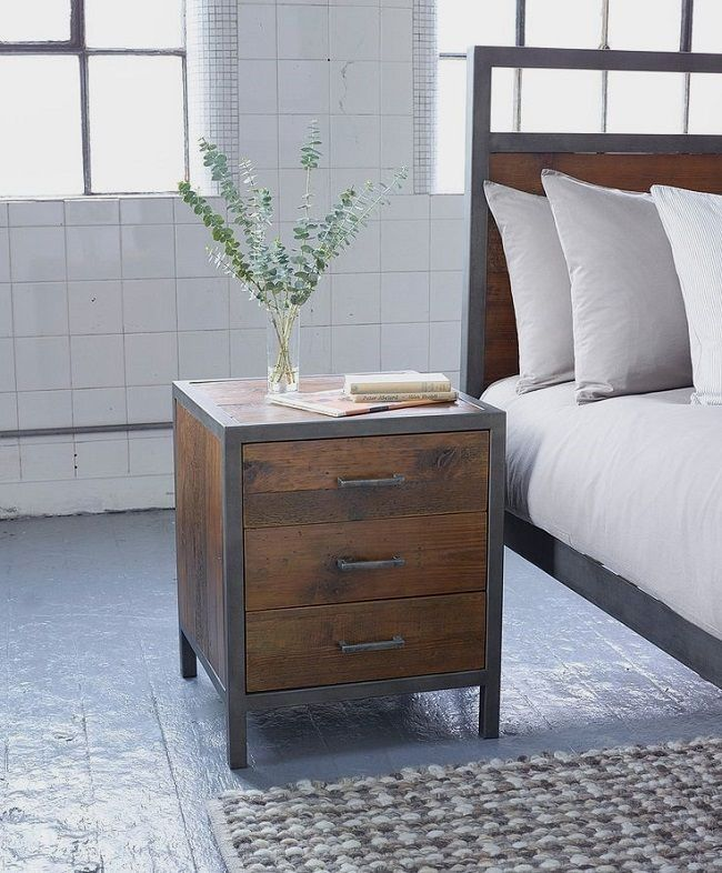 Industrial Style Bedroom Furniture Loft Style Bed Free Standing Wardrobe Tallbo Industrial Style Bedroom Industrial Bedroom Furniture Bedroom Furniture Sets