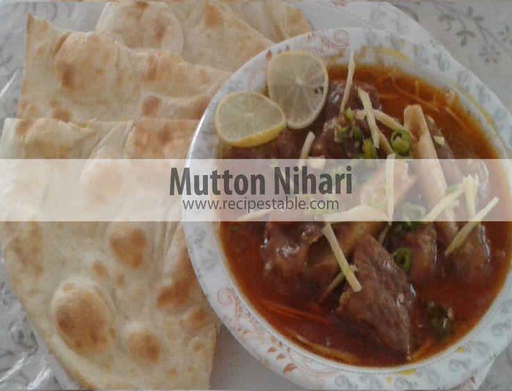 how to make mutton nihari