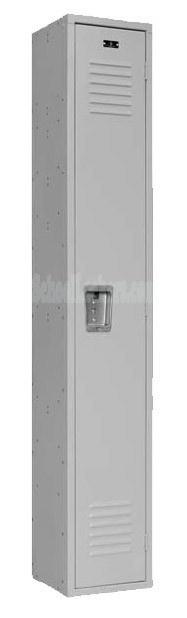 Single Tier Metal School Locker