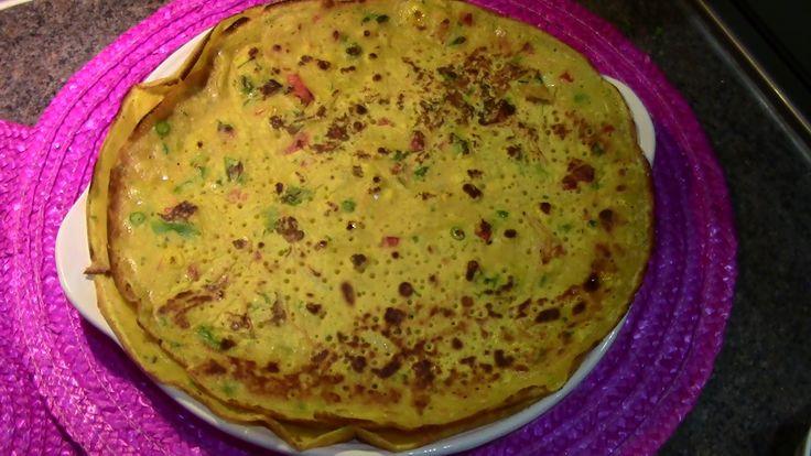 Indian Pancakes (Gluten free & Vegan!)